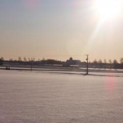 payasage en hiver