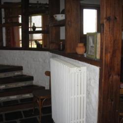 cuisine et escalier gite 1546